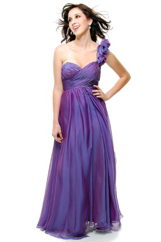 Prom One Shoulder Dress New Elegant Long Gown