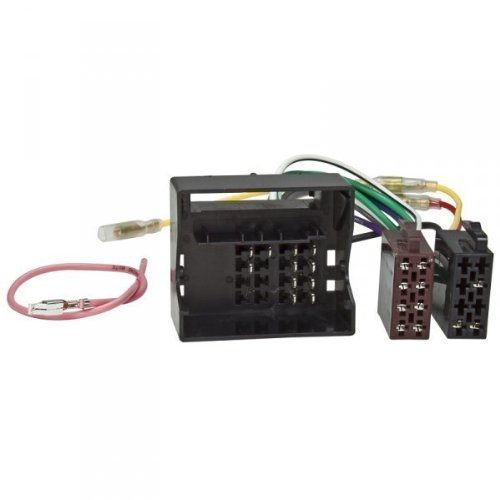 radio-adaptor-cable-for-citroen-c4-c5-peugeot-407-2005-most-quadlock-on-iso-voltage-4-speakers