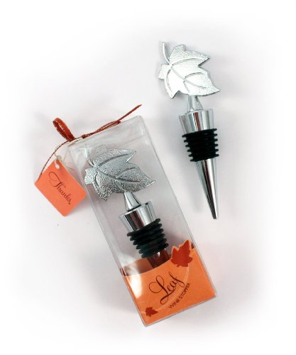 Weddingstar-Leaf-Wine-Stopper-in-Gift-Packaging