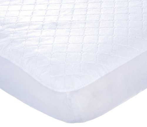 Carter's Keep Me Dry Waterproof Fitted Quilted Crib Pad, White 2-Pads (Carter Keep Me Dry Crib Pad compare prices)