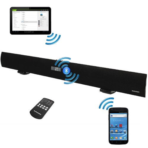 Durherm Sb101 37-Inch 2.1 Channel 240W Slim Soundbar W/ Bluetooth Led Display Fm Radio