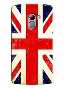 Clarks England Flag Hard Plastic Printed Back Cover/Case For Lenovo K4 Note