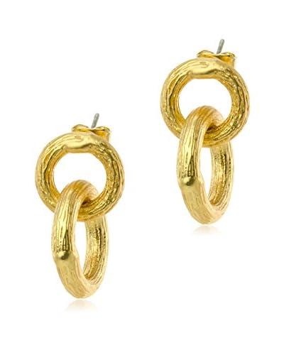 Jardin Double Brushed Earrings