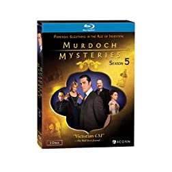 Murdoch Mysteries, Season Five [Blu-ray]
