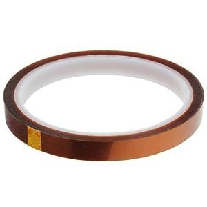 KIMILAR 10mm Band Klebeband hitzebestandiges Abdeckband Heibklebeband bis 350 Grad Celsius Warmeklasse