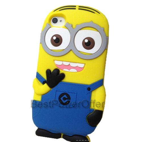 BestPowerOffer 3D Despicable Me 2 Minion Soft