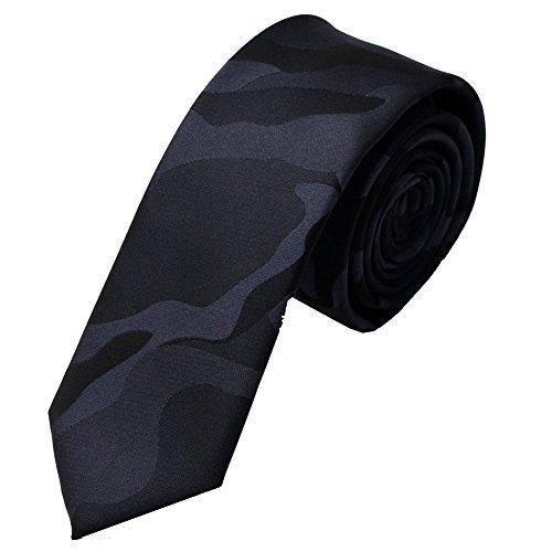 Vintage Men Polyester Camo Skinny Necktie Modern Formal Suit Ties (Camo Neck Ties compare prices)