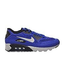 Nike Air Max 90 Ultra BR Plus QS Men's Running Shoes Blue/White-Grey-Black 810170-401