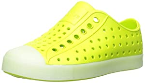 Native Jefferson Child Slip-On (Toddler/Little Kid),Chartreuse Green Glow,11 M US Little Kid