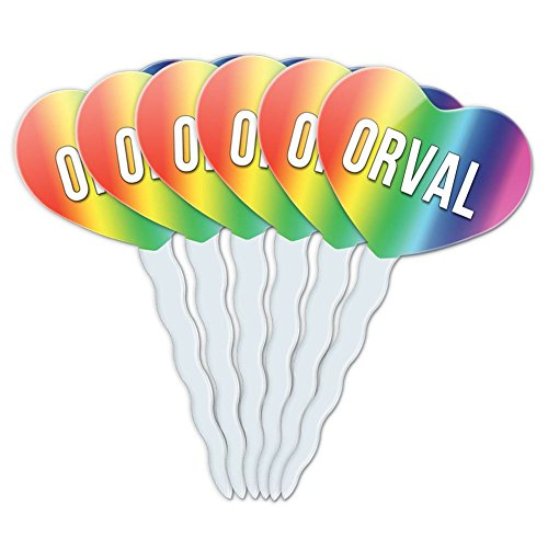 rainbow-heart-love-set-of-6-cupcake-picks-toppers-decoration-names-male-oa-oz-orval