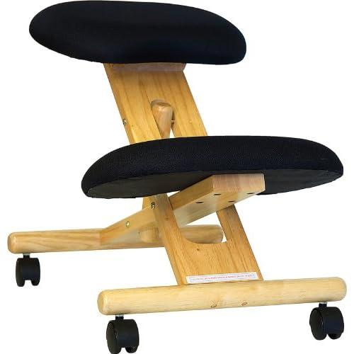 Wood kneeling chair - TheFind
