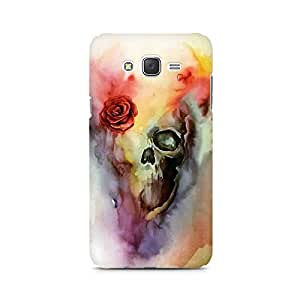Mobicture Skull Paint Premium Printed Case For Samsung J7