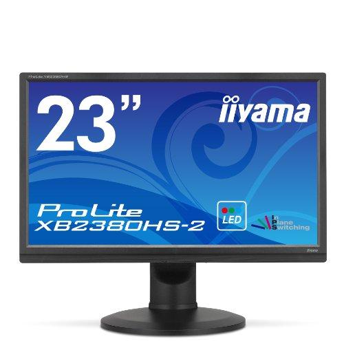 iiyama 昇降・ピボット機能対応 IPS方式パネル+ホワイトLEDバックライト搭載 23型ワイド液晶ディスプレイ ProLite XB2380HS-B2