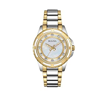 Bulova - Reloj de pulsera mujer