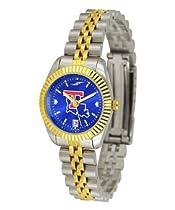 Louisiana La Tech Ladies Gold Dress Watch