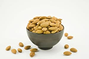 Natural Raw Almonds (4 Pound Bag) from Superior Nut Company, Inc.