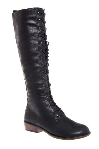 Dirty Laundry Pride And Joy Tall Low Heel Lace Up Boot
