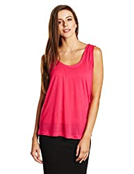 French Connection Womens Tunic Top (76DNQ_Passion Pink_Medium)