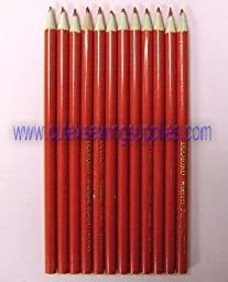 Washout Pencils Red - Pack of 12