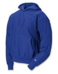 S101 Champion Adult Reverse Weave Hooded Pullover Fleece, Team Blue, Large