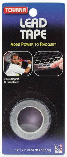Tourna Lead Tape - Pre-Cut Tennis Racket Balancers