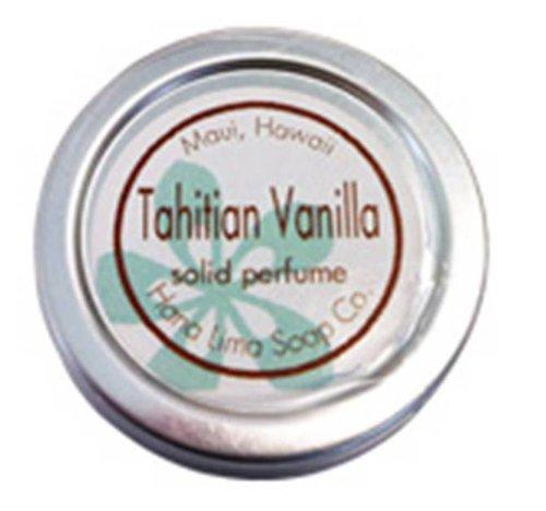 ハワイ ハナリマソープ ソリッドパフューム(練り香水)15g タヒチアンバニラの香り