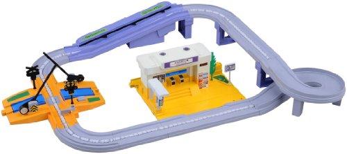 トミカ すいすいロード 駅と踏切セット