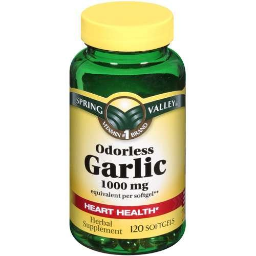 Spring valley garlic pills