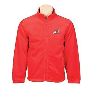 Radford Fleece Full Zip Red Jacket 'RU Highlander' - Small