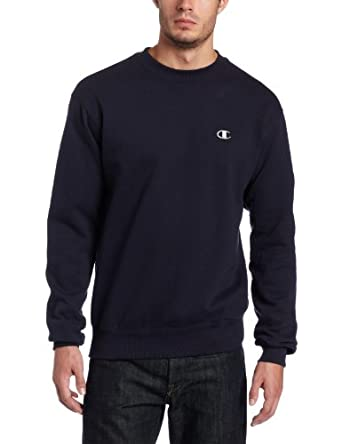 Champion Eco Fleece Crew, Navy, Small