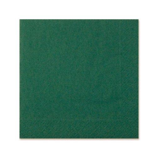 Dark Green Luncheon Napkins (3-Ply) (20/Pkg)