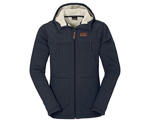 Jack Wolfskin Terra Nova F65 Hooded Fleece – Burnt Olive günstig bestellen