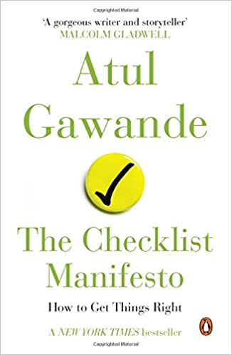 Amazon.in: Buy The Checklist Manifesto : How to Get Things Right ...