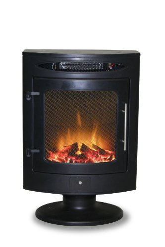 Mistral Electric Stove in Black image B007XYANJE.jpg