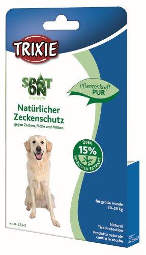 Artikelbild: Trixie 25341 Spot On Nat. Zeckenmittel, große Hunde, 4 × 2,5 ml