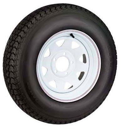 Wheels  Tire Packages on Steel Spoke 4 Lug Trailer Wheel And Tire Package Load Range C Sale