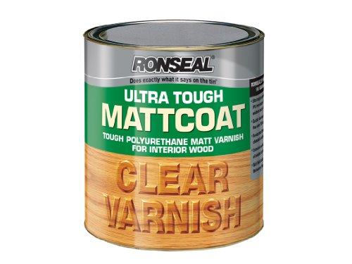 Ronseal UTVMC750 750ml Ultra Tough Internal Clear Mattcoat Varnish