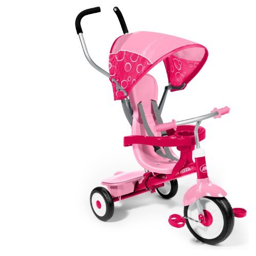 Radio Flyer 4-in-1 Trike, Pink by Radio Flyer (Radio Flyer Pink 4 In 1 Trike compare prices)