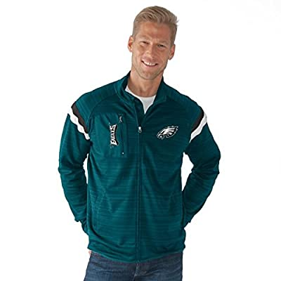 "Philadelphia Eagles NFL G-III ""Wild Card"" Men's Full Zip Track Jacket"
