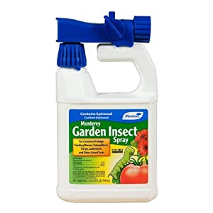 Monterey Lg6135 Garden Insect Spray Contains Spinosad 32 Ounce Insect Repellents