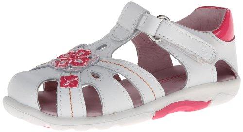 Stride Rite Hazel Dress Sandal (Toddler),White/Multi,5.5 M Us Toddler front-708285