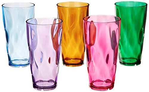 Creative Ware 24-Ounce Plastic Tumblers, Set of 10 (Drink Ware Made Of Plastic compare prices)