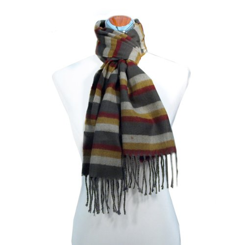 Autumn Harvest Stripe Scarf