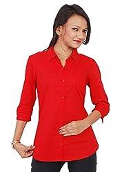 NAUGHTY BEAR Women's Red Shirt