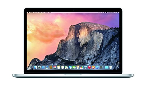 Apple MacBook Pro with Retina Display 15-inch Laptop (Intel Core i7 2.2 GHz, 16 GB RAM, 256 GB SSD, Intel Iris, OS X) - Silver - 2015 - MJLQ2B/A - UK Keyboard