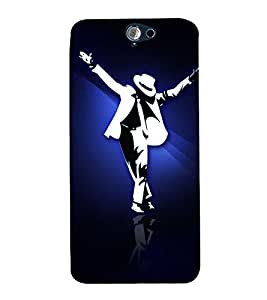 EPICCASE MJ the legend Mobile Back Case Cover For HTC One A9 (Designer Case)