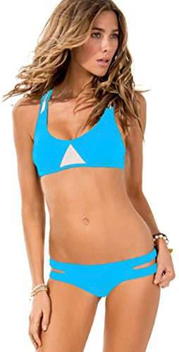 Elady Sexy Bikini Stretchy Beachwear Top Panty Sets Bathing Swimsuit For Women (M)