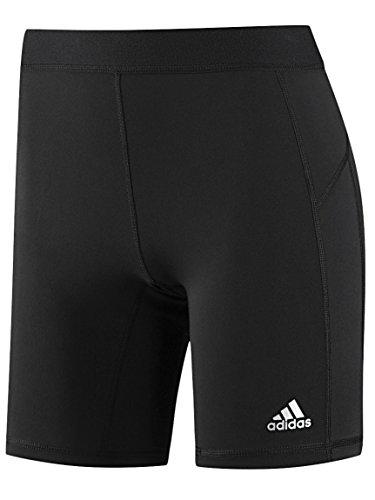 adidas Performance Women's Techfit 7-Inch Boy Shorts, Black/Black, Medium