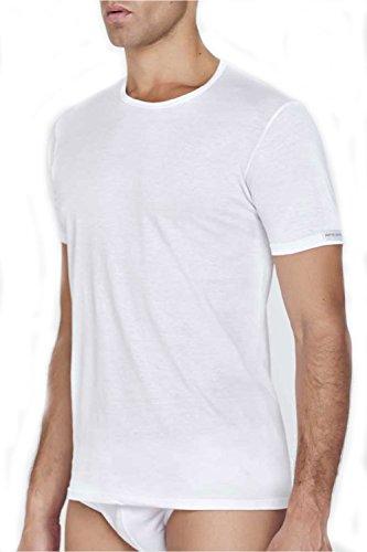 Pierre Cardin / T-shirt uomo MM gc. / Varianti colore: B.co - Nero - Assortito / Composizione: 100% Cotone