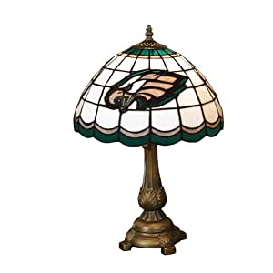Amazon Com Nfl Philadelphia Eagles Tiffany Table Lamp